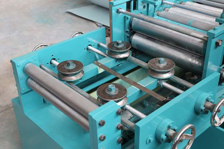 Automatic Fire Damper Frame Roll Forming Machine