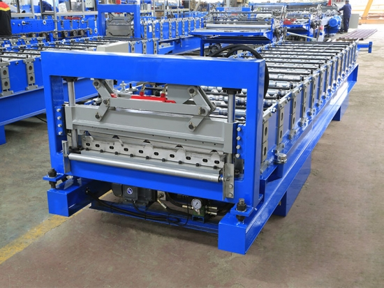 Roof Panel Roll Forming Machine For YX23-845 Profile