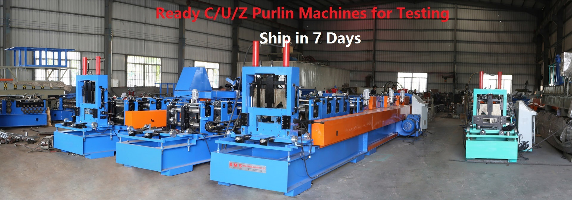 Roll Forming Machinery workshop